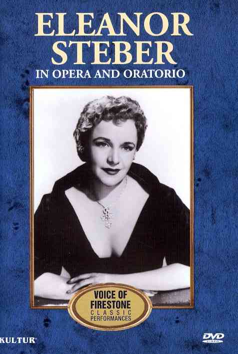 ELEANOR STEBER IN OPERA AND ORATORIO: BY STEBER,ELEANOR (DVD)